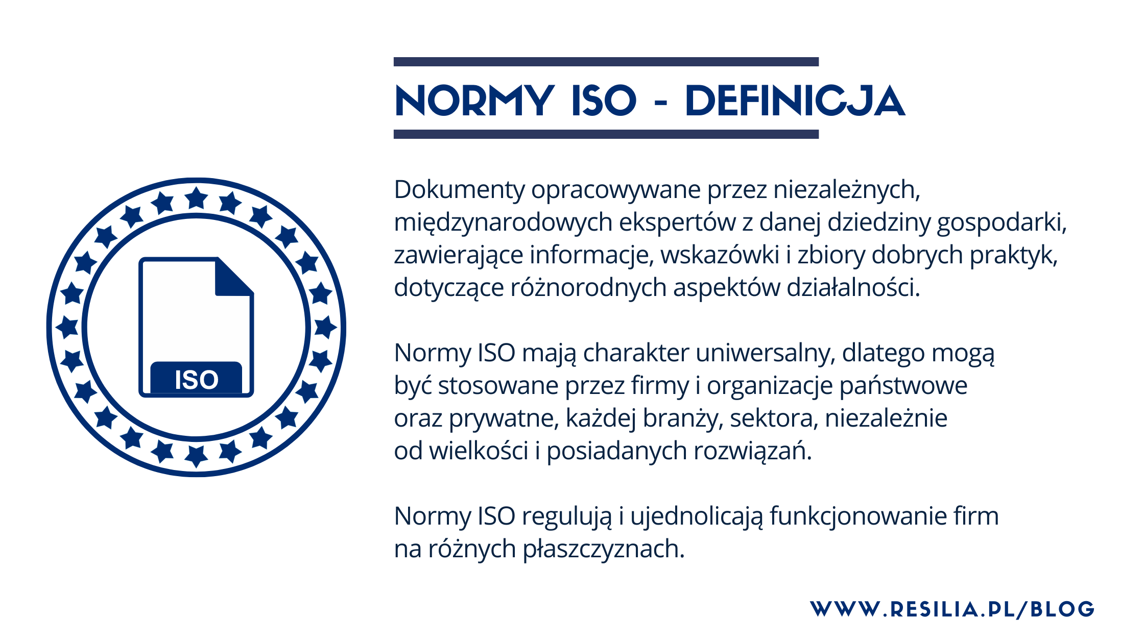 Normy ISO - co to jest? Definicja
