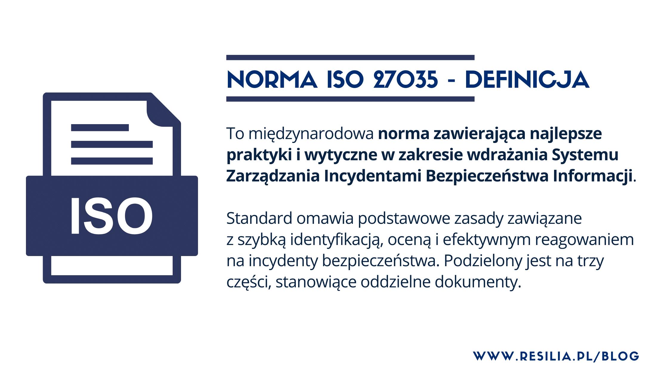 ISO 27035 definicja